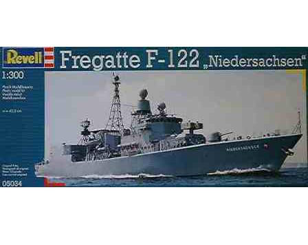 LuckyModel com - REVELL Fregatte F-122 Niedersachsen 1/300