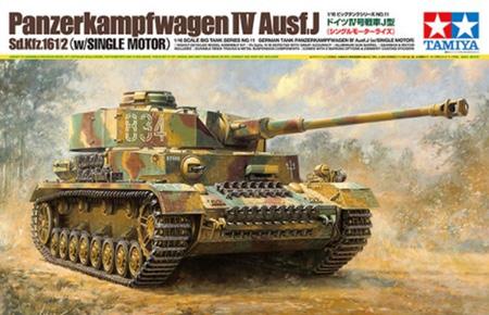 LuckyModel com - TAMIYA 1/16 German Tank Panzerkampfwagen IV