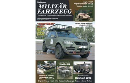 36. TANKOGRAD MILITAR FAHRZEUG ISSUE 1/2007 NEW WEHRMACHT JAGDPANTHER