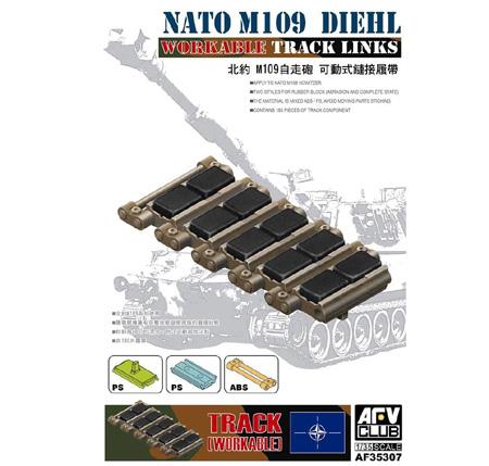 LuckyModel com - AFV CLUB NATO M109 Diehl Track Link (AF 35307)